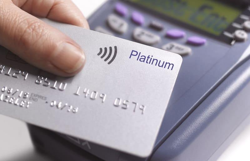 Банковская кредитная карта Platinum